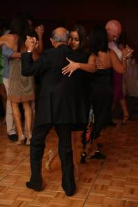 Me dancing with Mohammed at a milonga. Picture courtesy Cesar Jaramillo from Latin Soul.